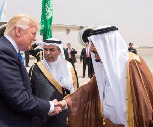 ننشر الصور الأولى لترامب وفيرونيكا في السعودية