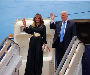 برنامج زيارة ترامب وزوجته في تل أبيب