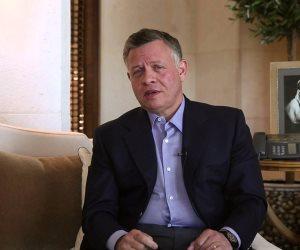 العاهل الأردني يعزي الرئيس السيسي في شهداء حادث الواحات الإرهابي