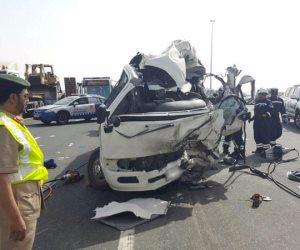 مصرع شخصين وإصابة ثلاثة آخرين في حادث تصادم بالإسكندرية