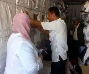 جمارك الإسكندرية تحبط محاولة تهريب كمية كبيرة من الأقراص المخدرة (صور )