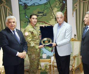 محافظ جنوب سيناء يلتقي قائد القوات متعددة الجنسيات بشرم الشيخ