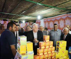 إقبال كثيف من أهالي طور سيناء على معارض «أهلا رمضان» لشراء السلع
