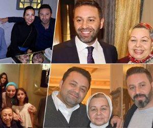 «أحلى أم» في عيد ميلادها.. 5 صور لحازم إمام ووالدته ماجي الحلواني