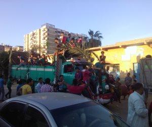 مواكب شعبية تحتفل بقدوم شهر رمضان في كفر الشيخ