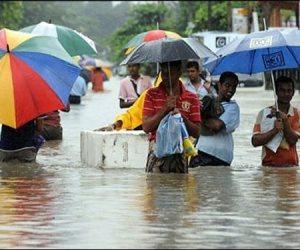 مقتل 25 شخصا وفقدان 42 جراء الأمطار الموسمية فى سريلانكا