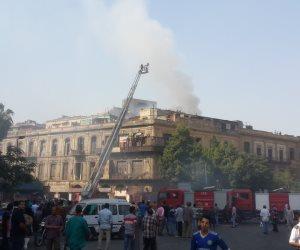 النيابة تتحفظ على الكاميرات بمحيط مجلس الوزراء لكشف أسباب الحريق