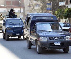 إصابة ضابط وأميني شرطة خلال مأمورية بقنا