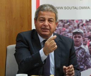 وزير الشباب: تفاعل الشباب مع مباريات المنتخب يشجعهم على المشاركة بالانتخابات الرئاسية