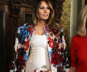 """ميلانيا ترامب تنتقد قول زوجته السابقة إيفانا """"أنا السيدة الأولى"""""""