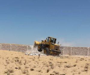 استرداد 3911 فدانا من أراضي أملاك الدولة ببئر العبد في سيناء