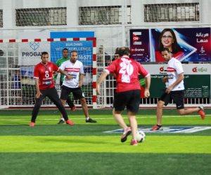 نجوم الأهلي والزمالك في إنطلاق الدورة الرمضانية لكأس ON Sport