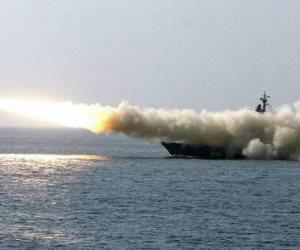 روسيا تضرب داعش سوريا من البحر المتوسط بالصواريخ (فيديو)