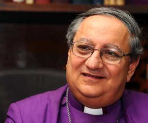 مطران الأسقفية يهنئ البابا تواضروس بعيد القيامة المجيد