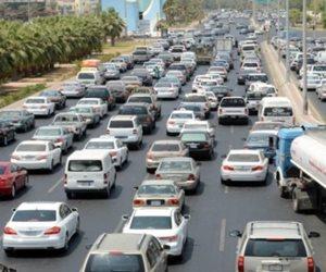 النشرة الصباحية.. تعرف على خريطة الحالة المرورية في القاهرة الكبري