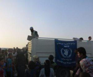 برنامج الأغذية العالمي يوزع مساعدات إنسانية لـ 165 ألف سوري