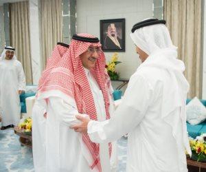 الملك سلمان يستقبل ولي عهد أبو ظبي بمدينة جدة (صور)