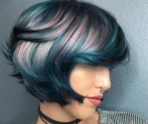 أشهر مصففة للشعر تنشر أحدث صيحات صبغات الشعر بألوان قوس قزح وجزر المحبط الهادئ