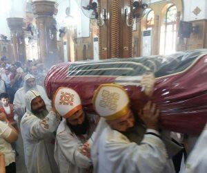 الكنيسة تودع تاسوني «أفومية» في جنازة مهيبة