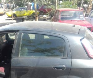 توقف الحركة المرورية أعلى محور المشير طنطاوي، بسبب حادث تصادم ثلاث سيارات ملاكي