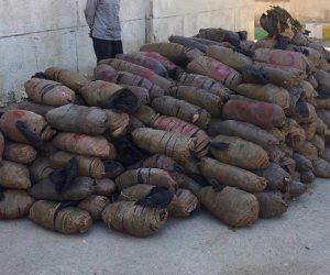 قوات حرس الحدود تضبط 41 قضية تهريب مواد مخدرة وأسلحة