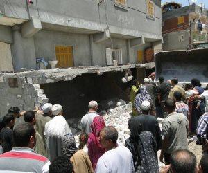 حملة إزالة مكبرة للمباني المخالفة بمدينة دمنهور بالبحيرة (صور)