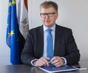 الاتحاد الأوروبي يؤكد وقوفه مع مصر في حربها ضد الإرهاب