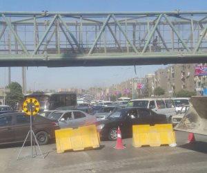 غرفة عمليات مرور القاهرة.. ازدحام مروري لرفع أجسام كوبري الفنجري