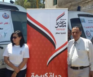 صندق تحيا مصر يشارك كفر الشيخ في مأدبة الإفطار الرمضانية (صور)