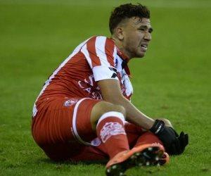 طرد تريزيجيه بعد مرور 56 دقيقة من مباراة قاسم باشا وبورصا سبور