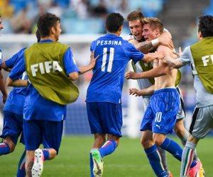 اليوم.. إيطاليا تواجه إنجلترا وأوروجواي أمام فنزويلا في نصف نهائى مونديال الشباب