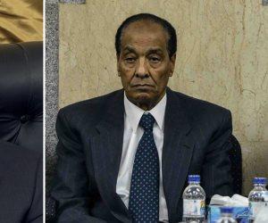 تفاصيل 15 دقيقة بين جمال مبارك وطنطاوي خلال عزاء شقيق المشير