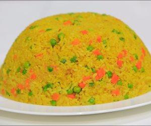فطارك عندنا.. شوربة مشروم و بط بالبرتقال وأرز بسمتى بالبسلة وسلطة روسى والحلو كوكتيل