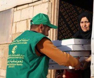 «سلمان للإغاثة» .. توزيع وجبات إفطار على لاجئي سوريا بلبنان (صور)