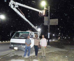 توفير 5000 كشاف إنارة «ليد» لشوارع مركز طهطا