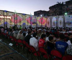 """""""مصر الخير """" تقيم 5 خيام رمضانية للإفطار بالعريش وبئر العبد في شمال سيناء"""