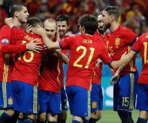 بث مباشر .. مشاهدة مباراة أسبانيا ومقدونيا بتصفيات المونديال
