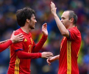 التشكيل الرسمى لمباراة أسبانيا ومقدونيا اليوم بتصفيات المونديال
