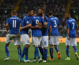إيطاليا فى طريق البحث عن أمال التأهل للمونديال أمام مقدونيا