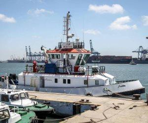ميناء دمياط: 62754 طنا رصيد صومعة الحبوب والغلال للقطاع العام بالميناء