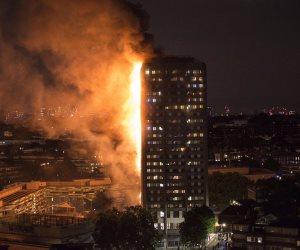 نقل 30 مصابا في حريق برج لندن السكني إلى مستشفيات المدينة