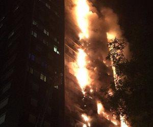 قفزوا من شدة النيران.. سكان برج لندن المحترق يحاولون النجاة