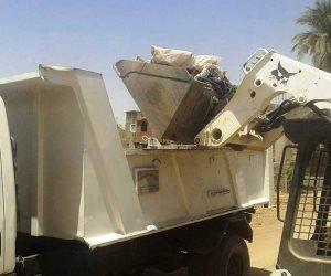 حملات مكبرة للنظافة والتجميل بجزيرة الشورانية وقري مركز المراغة بسوهاج