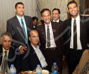 سمير زاهر والعامري فاروق ومصطفى يونس في حفل إفطار مستشار اتحاد الكرة (صور)