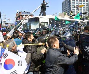 مظاهرات في كوريا الجنوبية ضد نشر نظام صواريخ «ثاد» الأمريكي
