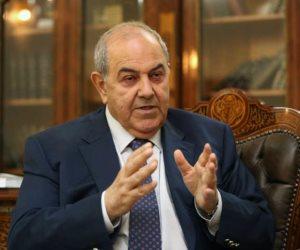 علاوي: فرحتنا بتحرير الموصل لن تكتمل إلا بضمان عودة النازحين