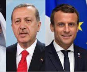 فرنسا وتركيا تتوسطان لحل المقاطعة العربية لقطر عبر «الفيديو كونفرنس»