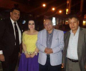 لوسي آرتين وصهر جمال مبارك في سحور محي بدراوي (صور)