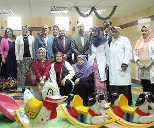 حفل ترفيهي للأطفال مرضى الكبد بالمعهد القومي بالمنوفية (صور)