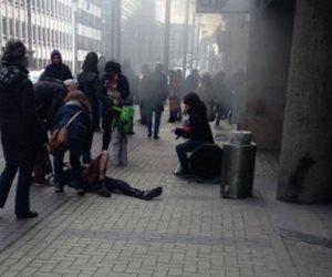 انفجار ضخم يهز بروكسل ومقتل مشتبه به يرتدي حزاما ناسفا